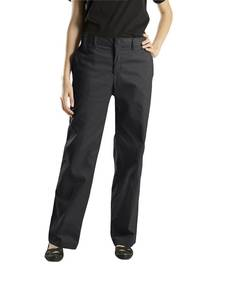 Dickies Drop Ship FP221 6.75 oz. Women's Premium Flat Front Pant