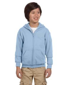 Gildan G186B Youth Heavy Blend™ 8 oz., 50/50 Full-Zip Hood