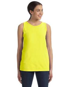 Authentic Pigment 1972 Ladies' 5.6 oz. Pigment-Dyed & Direct-Dyed Ringspun Tank