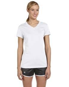 Russell Athletic JUL1JW Ladies' Dri-Power® V-Neck T-Shirt
