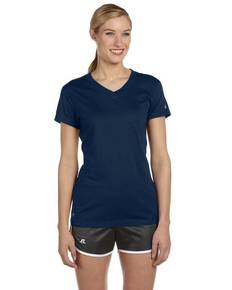 Russell Athletic JUL1JW Ladies' Dri-Power® V-Neck T-Shirt