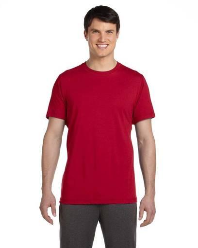 all sport m1005 unisex dri-blend short-sleeve t-shirt front image