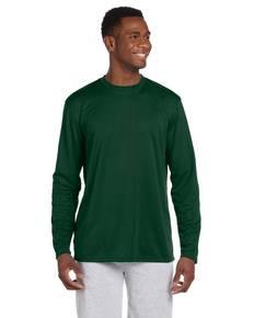 Harriton M320L Adult 4.2 oz. Athletic Sport Long-Sleeve T-Shirt