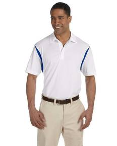 Harriton M356 Men's Back Blocked Micro-Piqué Polo