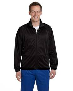 Harriton M390 Men's Tricot Track Jacket