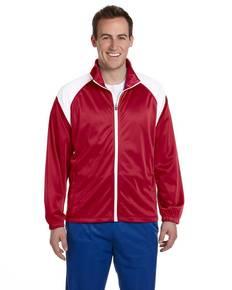 Harriton M390 Men's Tricot Track Jacket