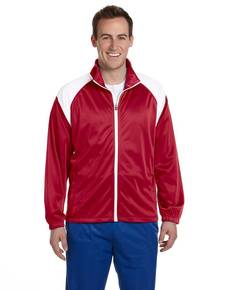 harriton-m390-men-39-s-tricot-track-jacket