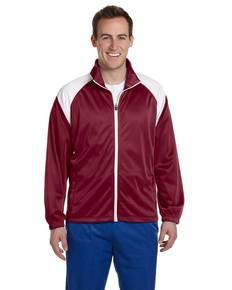 harriton-m390-men-39-s-tricot-track-jacket