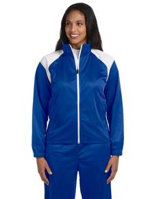 harriton-m390w-ladies-39-tricot-track-jacket