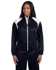 harriton-m390w-ladies-39-tricot-track-jacket