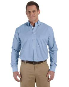 Harriton M555 Men's 3.48 oz. Chambray