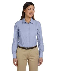 Harriton M555W Ladies' 3.48 oz. Chambray