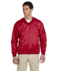 Harriton M720 Athletic V-Neck Pullover Jacket