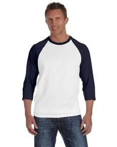 Anvil 2184 Heavyweight Raglan 3/4-Sleeve T-Shirt