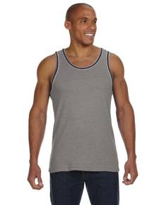 Alternative 22060E1 Men's Double Ringer Eco-Jersey Tank