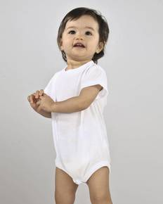 SubliVie Drop Ship S4610 Infant Sublimation Polyester Bodysuit