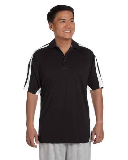 russell athletic s92cfm men's team game day polo front image