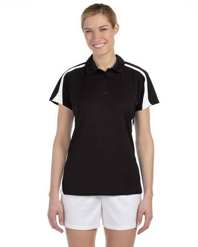 russell athletic s92cfx ladies' team game day polo front image