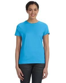 Hanes SL04 Ladies' 4.5 oz., 100% Ringspun Cotton nano-T® T-Shirt