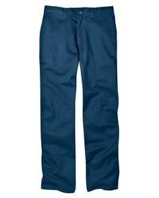 Dickies WP314 8 oz.  Relaxed Fit Cotton Flat Front Pant