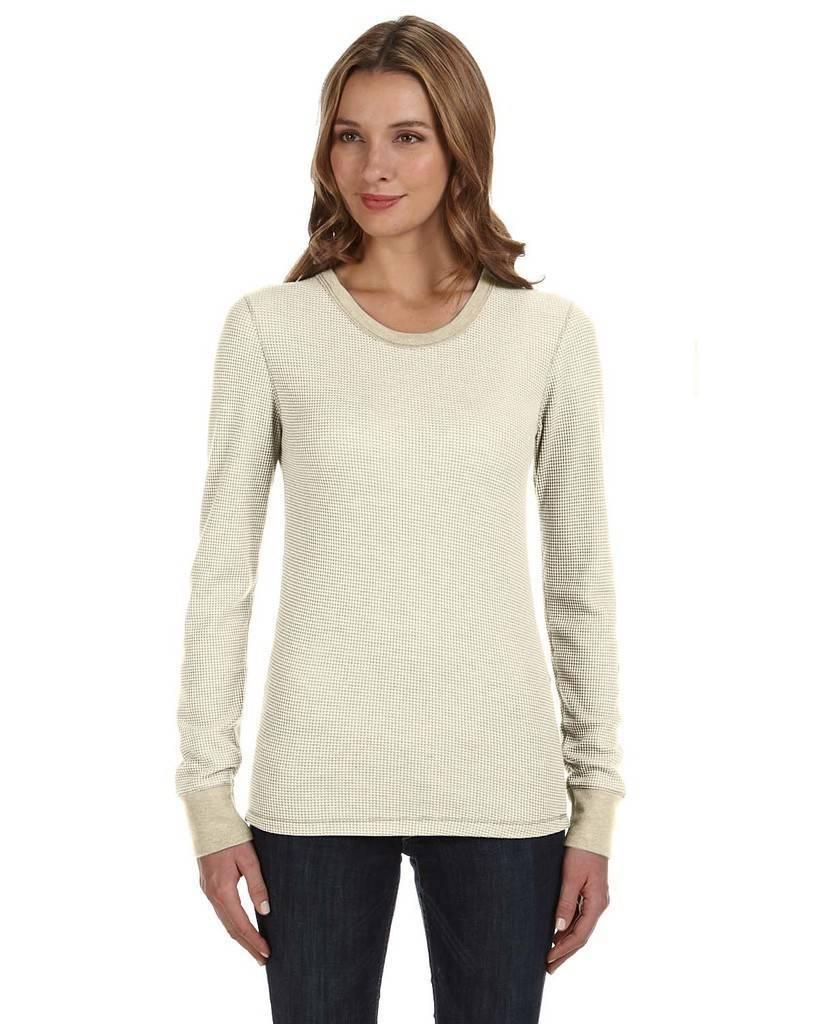Alternative 04305eu ladies 39 cozy long sleeve thermal shirt for Thermal t shirt long sleeve