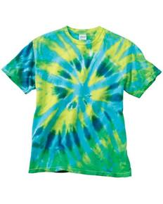 Dyenomite 200TD Rainbow Cut Spiral T-Shirt