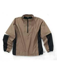 Storm Creek 4110 Men's Men's Quarter Zip Windshirt With Zip Off Sleeves