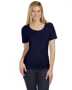 Bella + Canvas 6406 Missy Jersey Short-Sleeve Scoop Neck T-Shirt