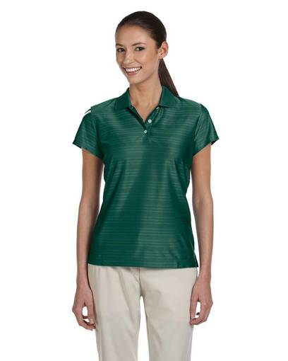 adidas golf a135 ladies' climacool mesh polo front image
