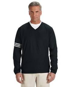 adidas Golf A147 Men's climalite Colorblock V-Neck Wind Shirt
