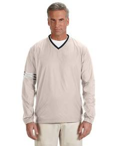 adidas Golf A147 Men's climalite Colorblock V-Neck Wind Shirt