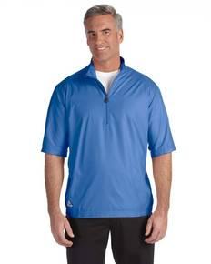 adidas Golf A167 Men's climalite Colorblock Half-Zip Wind Shirt