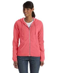 Comfort Colors C1598 Ladies' Full-Zip Hooded Sweatshirt
