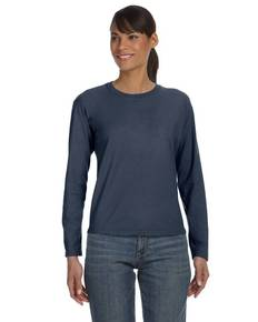 Comfort Colors C3014 Ladies' Ringspun Garment-Dyed Long-Sleeve T-Shirt