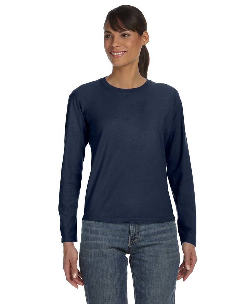 256dae1f4 Comfort Colors C3014 Ladies' Midweight RS Long-Sleeve T-Shirt
