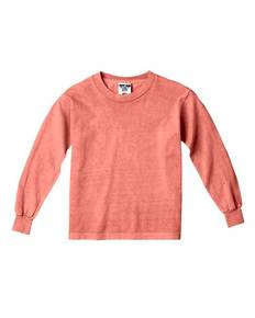 Comfort Colors Drop Ship C3483 Youth 5.4 oz. Garment-Dyed Long-Sleeve T-Shirt