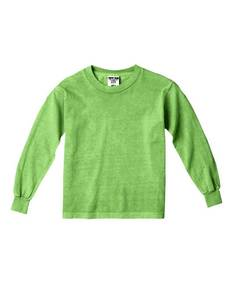 Comfort Colors Drop Ship C3483 Youth 5.4 oz. Garment-Dyed Long-Sleeve T-Shirt