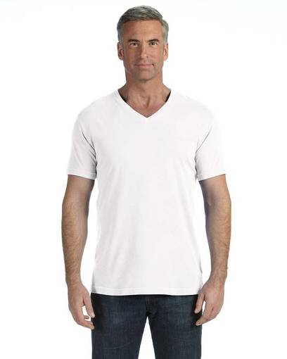 comfort colors c4099 adult midweight rs v-neck t-shirt front image