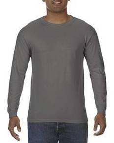 Comfort Colors C5014 5.5 oz. Ringspun Garment-Dyed Long-Sleeve T-Shirt