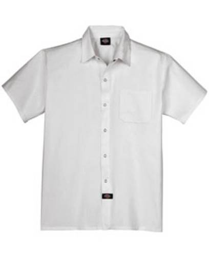 dickies dc125 cook shirt with chest pocket front image