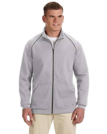 gildan g929 adult premium cotton® adult 9 oz. fleece full-zip jacket Front Fullsize