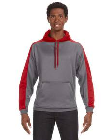 J America JA8973 Adult Poly Fleece Sport Hood