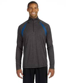 all-sport-m3026-men-39-s-quarter-zip-lightweight-pullover-with-insets