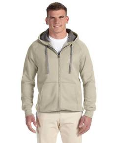 Hanes N280 7.2 oz. Nano Full-Zip Hooded Sweatshirt